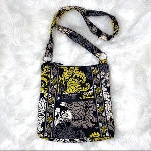 Vera Bradley Quilted Crossbody Handbag Black